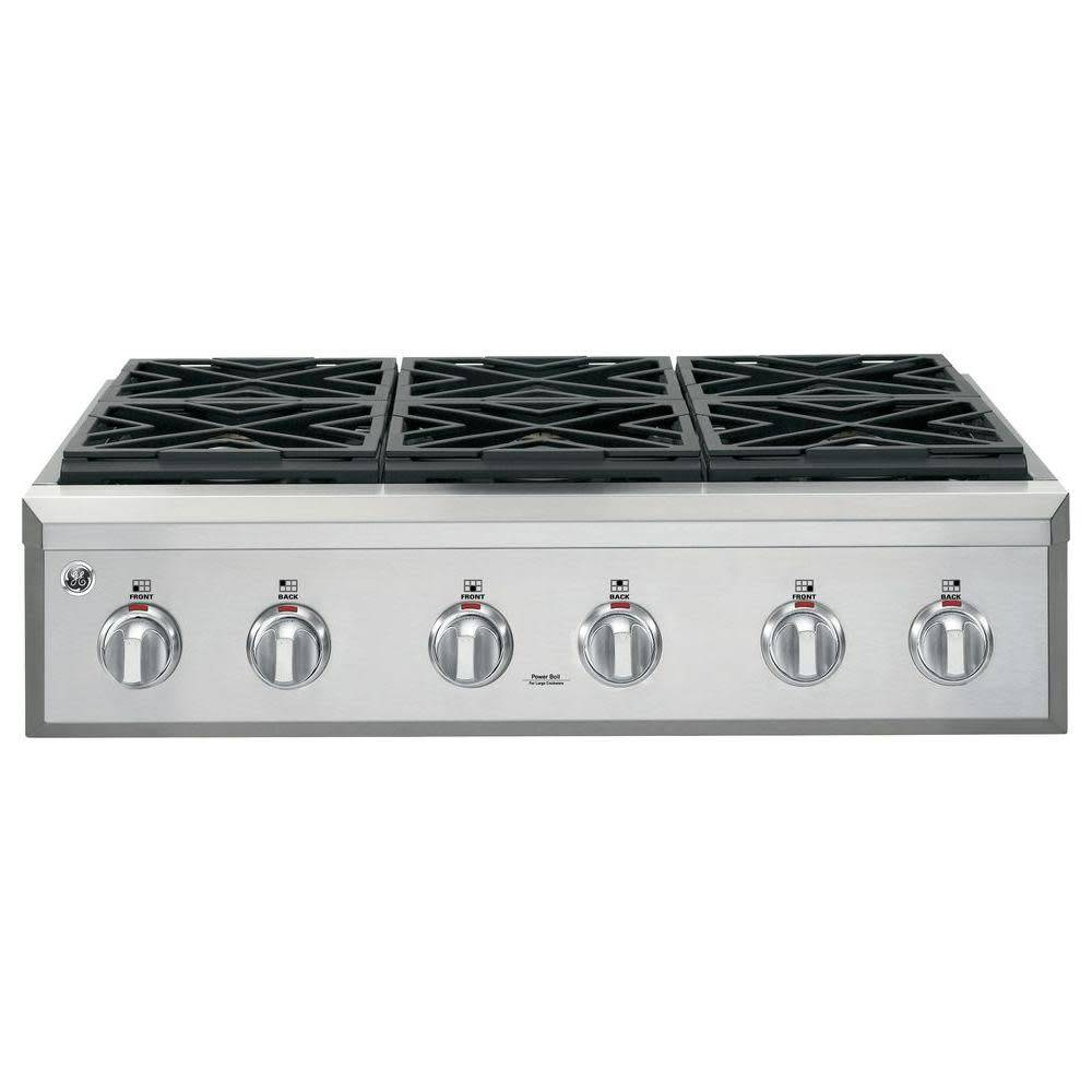 "GE GE Cafe 36"" Range Top Stainless"