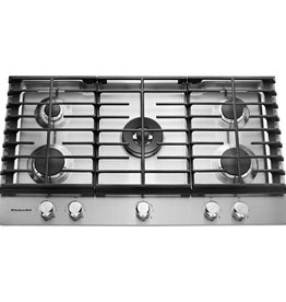"KitchenAid Kitchenaid 36"" Gas Cooktop Stainless"
