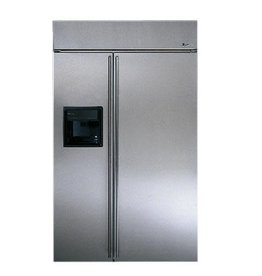 """GE GE Monogram 48"""" 28.7 SxS Refrigerator Stainless"""