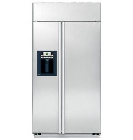 "GE GE 42"" 25.2 Built-In SxS Refrigerator Stainless"