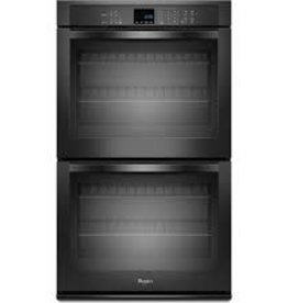 "Whirlpool Whirlpool 30"" Double Wall Oven Black"