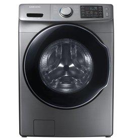 Samsung Samsung 4.5 Steam Front Load Washer Platinum