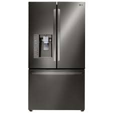 LG LG 23.7 Counter Depth French Door Refrigerator Black Stainless