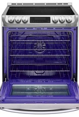 LG LG Slide-In Convection Electric Range Stainless