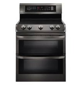 LG LG Freestanding Convection Electric Range Black Stainless