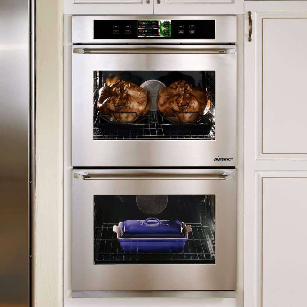 """Dacor Dacor 30"""" Convection Double Wall Oven Stainless"""