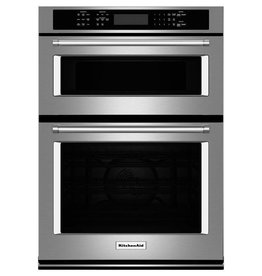 "KitchenAid Kitchenaid 27"" Microwave Convection Wall Oven Combo Stainless"