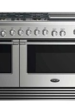 "DCS DCS 48"" Slide-In Convection Dual Fuel Range Stainless"