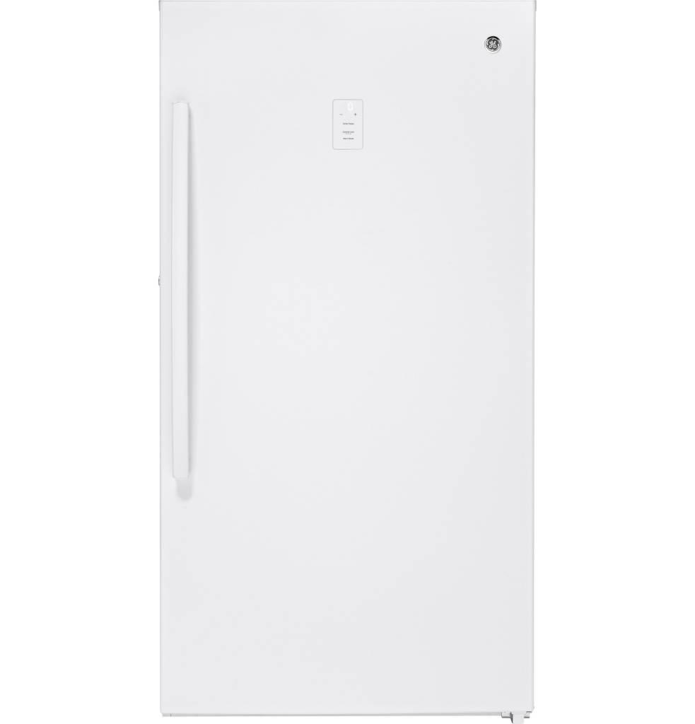 GE GE 17.3 Upright Freezer White