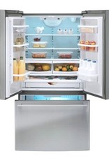 ikea Ikea 24.7 French Door Refrigerator Stainless