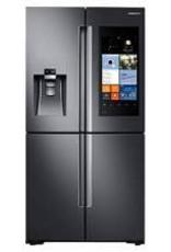 Samsung Samsung 27.9 Family Hub French Door Refrigerator Black Stainless