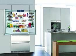 """Liebherr Liebherr 36"""" 19.6 Counter Depth French Door Refrigerator Stainless"""