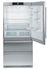 """Liebherr Liebherr 36"""" 19.6 Counter Depth Bottom Freezer Refrigerator Stainless"""