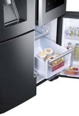 Samsung Samsung 22 Counter Depth Family Hub French Door Refrigerator Black Stainless