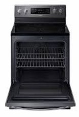 Samsung Samsung Freestanding Convection Electric Range Black Stainless