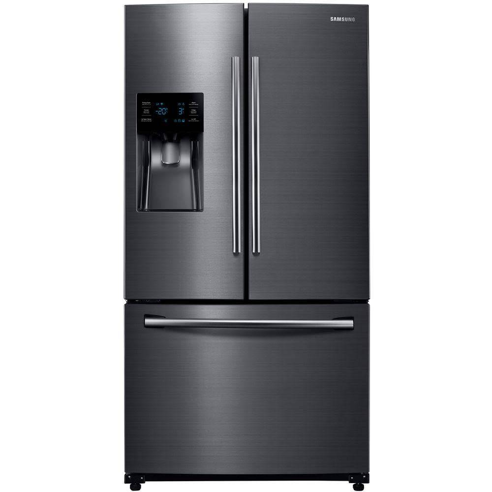 Samsung Samsung 24.6 French Door Refrigerator Black Stainless