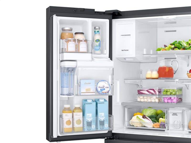 Samsung Samsung 22.7 Counter Depth French Door Refrigerator Black Stainless