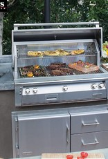 "Alfresco Alfresco 42"" Built-In Natural Gas Grill Stainless"