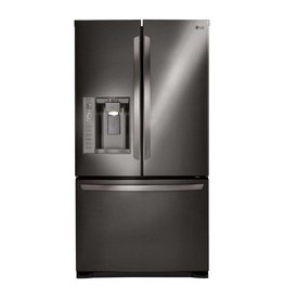 LG LG 24.1 French Door Refrigerator Black Stainless