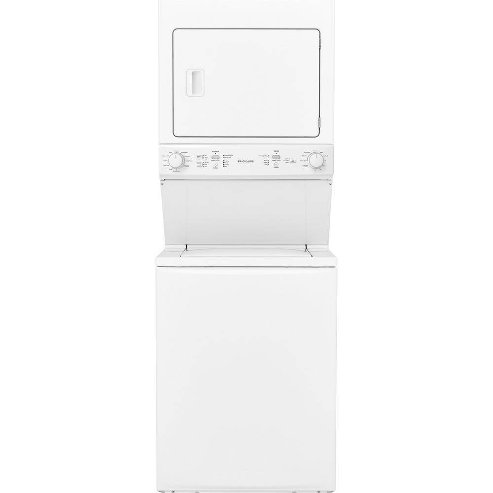 Frigidaire Frigidaire 3.9 Stacked Washer Gas Dryer White