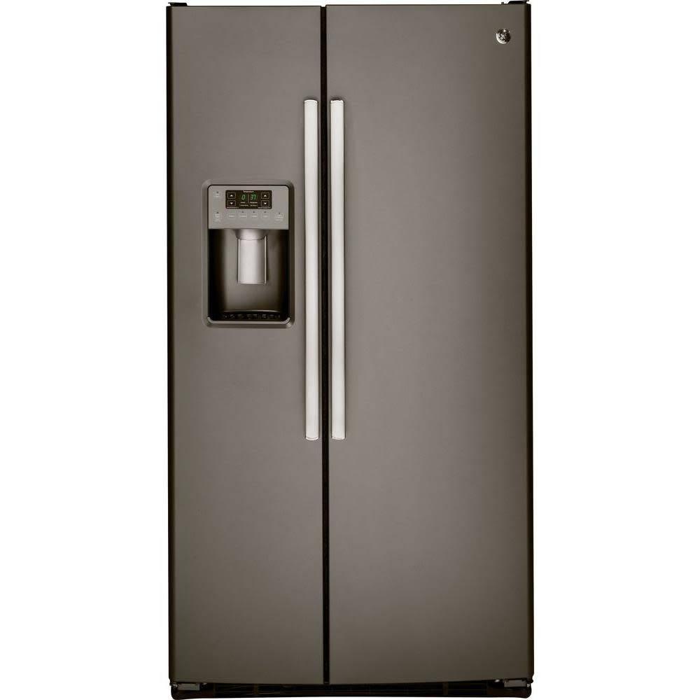 GE GE 25.3 SxS Refrigerator Slate
