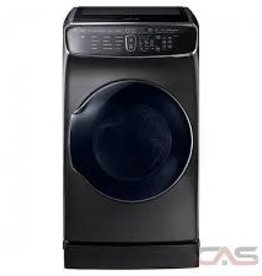 Samsung Samsung 7.5 FlexDry Steam Electric Dryer Black Stainless