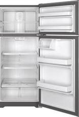 GE GE 15.5 Top Freezer Refrigerator Stainless