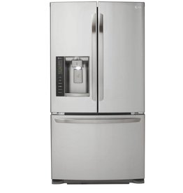 LG LG 24.1 French Door Refrigerator Stainless