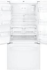 "GE GE 33"" 23.8 French Door Refrigerator White"
