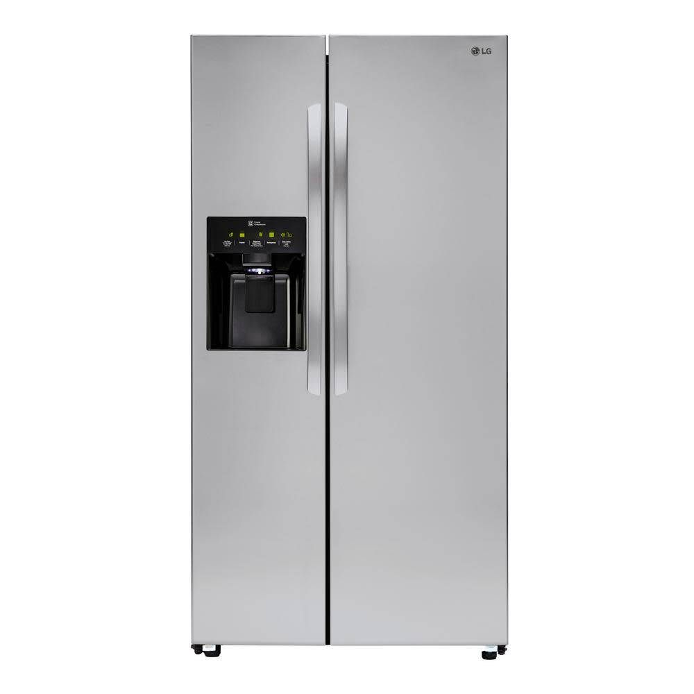 LG LG 26.2 SxS Refrigerator Stainless