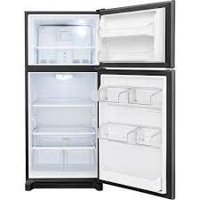 Frigidaire Frigidaire Gallery 20.3 Top Freezer Refrigerator Black Stainless