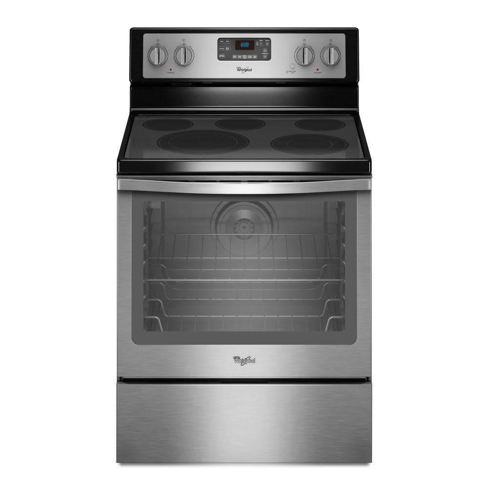 Whirlpool Whirlpool Freestanding Convection Electric Range Stainless