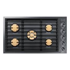 "Samsung Dacor 36"" Gas Cooktop Black Stainless"