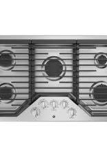 """GE GE 36"""" Gas Cooktop Stainless"""