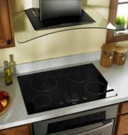 "Whirlpool Whirlpool 30"" Electric Cooktop Black"