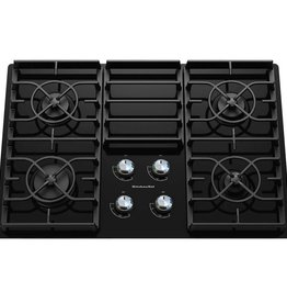 "KitchenAid Kitchenaid 30"" Gas Cooktop Black"