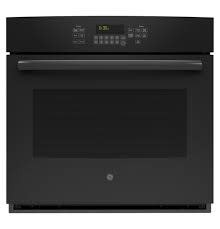 "GE GE 30"" Convection Wall Oven Black"