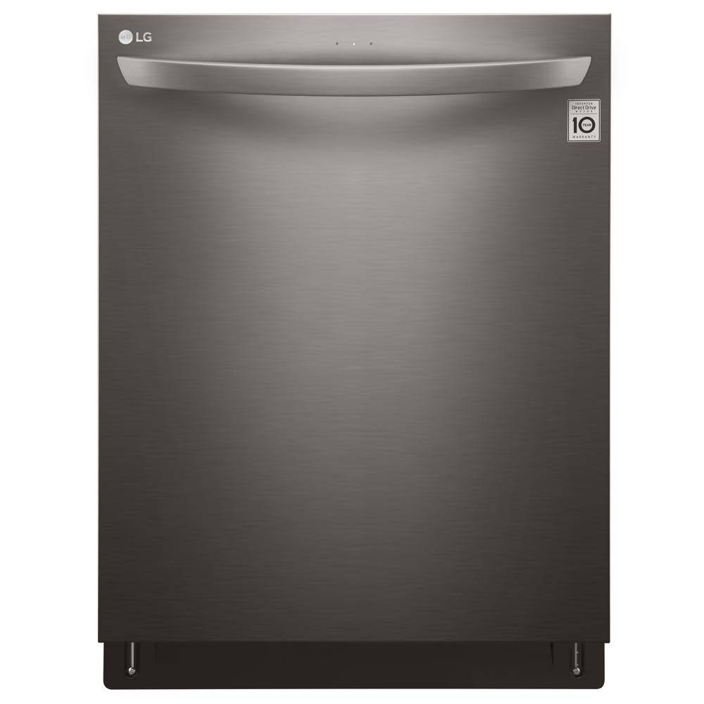LG LG Fully Integrated Dishwasher Black Stainless