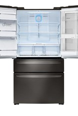 LG LG 23.0 Counter Depth French Door Refrigerator Black Stainless