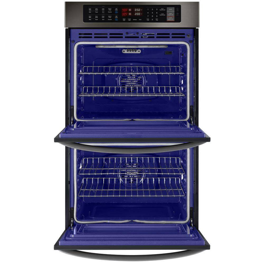 """LG LG 30"""" Convection Double Wall Oven Black Stainless"""