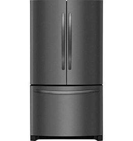 Frigidaire Frigidaire 22.4 Counter Depth French Door Refrigerator Black Stainless