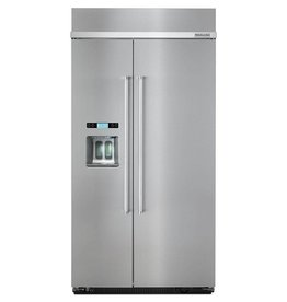 "KitchenAid Kitchenaid 42"" 25.0 Built-in SxS Refrigerator Stainless"