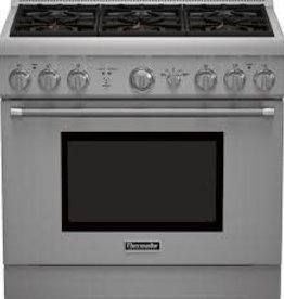 "Thermador Thermador 36"" Freestanding LP Gas Range Stainless"