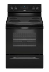 Whirlpool Whirlpool Freestanding Electric Range Black