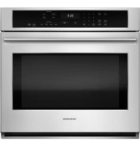 """GE GE Monogram 30"""" Convection Wall Oven Stainless"""