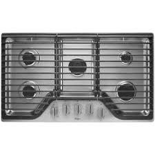 """Whirlpool Whirlpool 36"""" Gas Cooktop Stainless"""