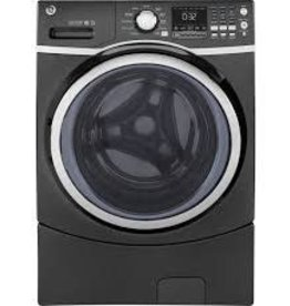 GE GE 4.5 Steam Front Load Washer Gray