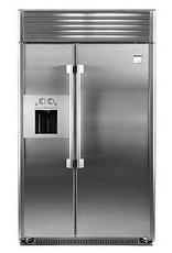 """Kenmore Kenmore Pro 48"""" 29.5 Built-In SxS Refrigerator Stainless"""