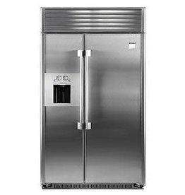 "Kenmore Kenmore Pro 48"" 29.5 Built-In SxS Refrigerator Stainless"