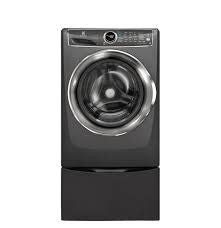 Electrolux Electrolux 4.4 Steam Front Load Washer w/ Pedestal Titanium